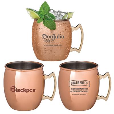 31147 - 17 oz Annapurna Copper Plated Moscow Mule Mug