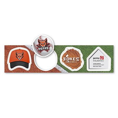 31198 - Baseball Themed Magnets