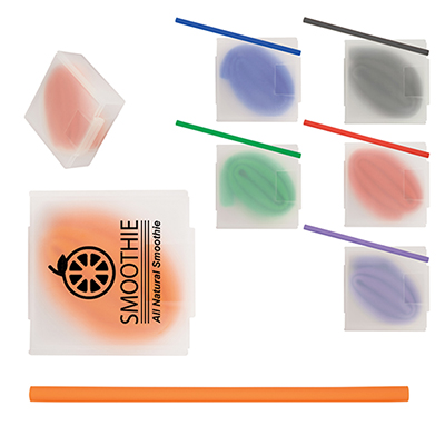31239 - Silicone Straw in Case