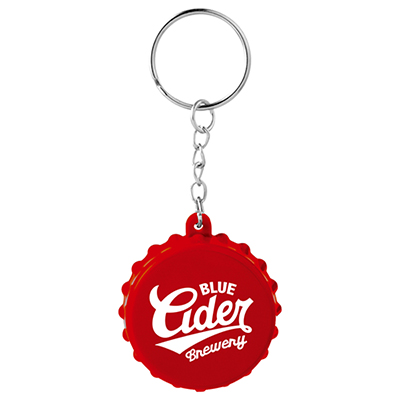 31296 - Beer Cap Keychain with Bottle Opener