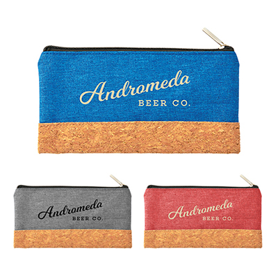 31305 - Heather Pouch with Cork Combo