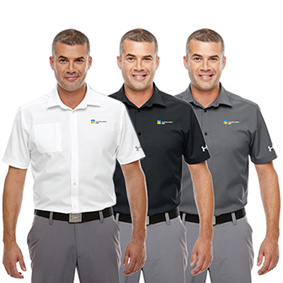 31457 - Under Armour Men's Ultimate Short Sleeve Buttondown