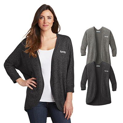 31547 - Port Authority Ladies Marled Cocoon Sweater