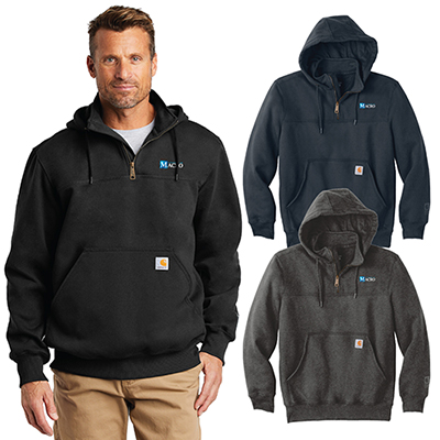 31575 - Carhartt Paxton Heavyweight Hooded Zip Mock Sweatshirt