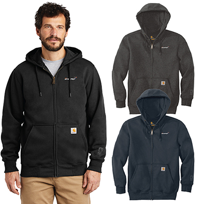 31577 - Carhartt Rain Defender Paxton Heavyweight Zip-Front Sweatshirt