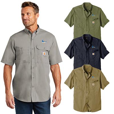 31581 - Carhartt Force Ridgefield Solid Short Sleeve Shirt