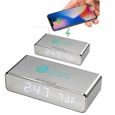 31596 - Keen Wireless Charging Desk Clock