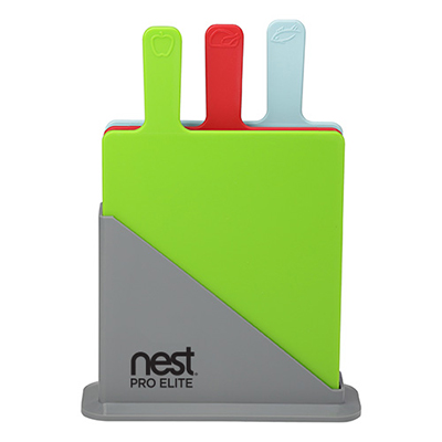 31590 - 3 Piece Cutting Board Set with Holder