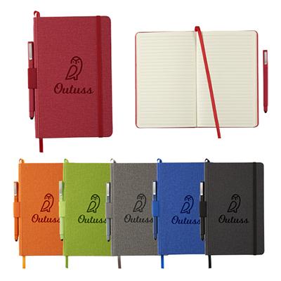 31663 - Heathered Hard Bound Journal Book™