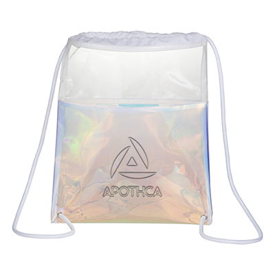 31671 - Iridescent Drawstring Bag
