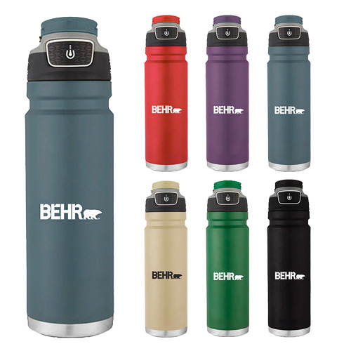31740 - 24 oz. Coleman® Freeflow Stainless Steel Hydration Bottle