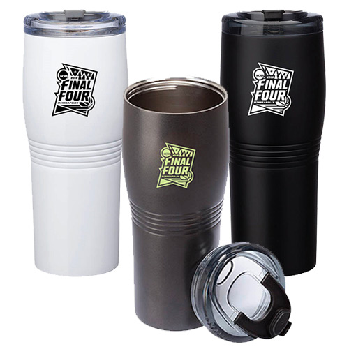 31797 - 20 oz. Misty Double Wall Stainless Steel Tumbler