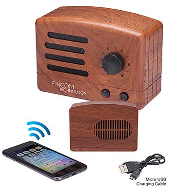 31824 - Vintage Retro Bluetooth Speaker