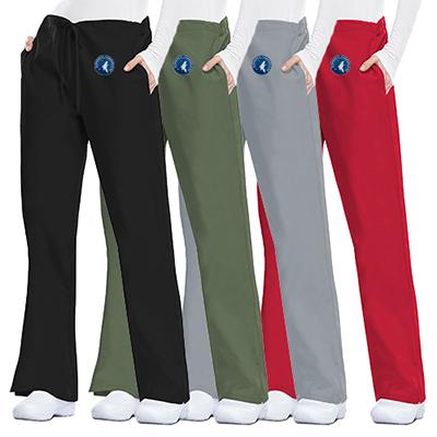 31904 - Cherokee Workwear Originals Women's Flare Drawstring Pants