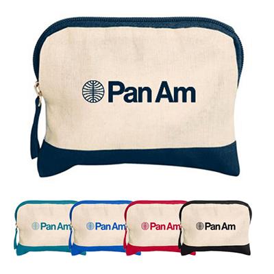 31946 - Cotton Colored Accent Accessory Bag