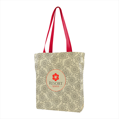 31951 - USA Made Gusseted Tote All Over Print