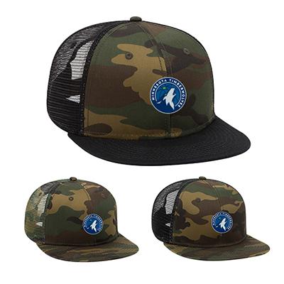 31993 - Camouflage Pro Style Mesh Back Trucker Snapback Hat