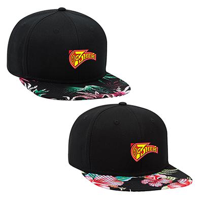 31987 - Superior Cotton Twill Cap with Hawaiian Pattern