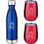 Bottle Blue/Tumbler Red