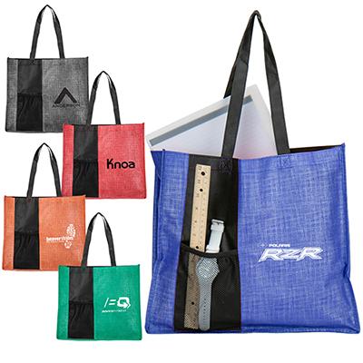 32176 - Cross Hatch Tote Bag