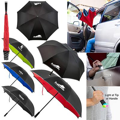 32182 - Cumulus Reversible Light Up Umbrella