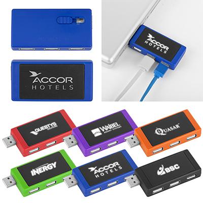 32187 - Light-Up 3 Port USB 2.0 Hub