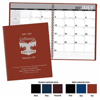 32254 - Academic Monthly Planner