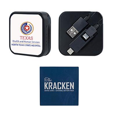 32294 - Kracken Cord + 1800mAh Power Bank