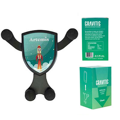 32314 - Gravitis Wireless Car Charger