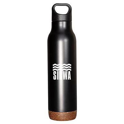 32324 - 20 oz. Double-Wall Vacuum Bottle with Cork Base