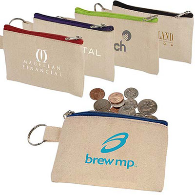 32332 - Cotton ID Holder & Coin Pouch