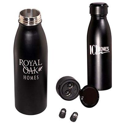 32334 - 20 oz. Wireless Earbud Stainless Steel Vacuum Bottle