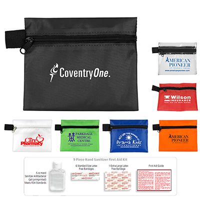 32363 - SaniTime 9 Piece Hand Sanitizer First Aid Kit