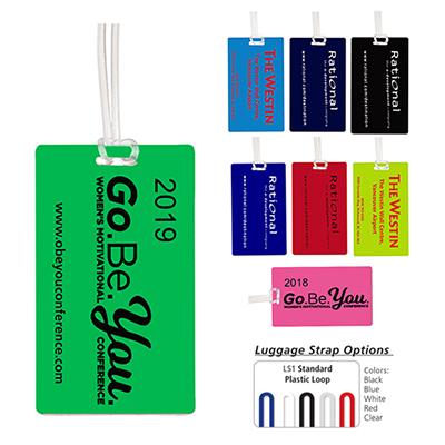 32374 - Cosair Neon Kwik-Seal Luggage Bag Tag