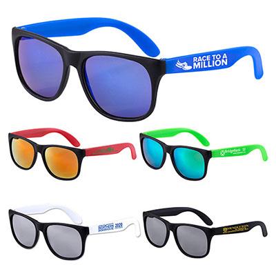 32386 - Newport Tint Colored Mirror Tint Sunglasses