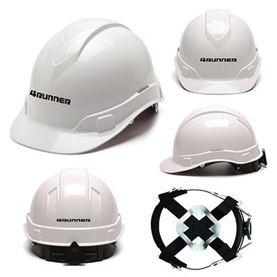 32391 - Ridgeline 4 Pt Ratchet Suspension Hard Hat