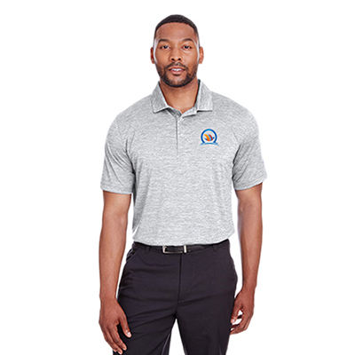 32480 - Puma Golf Men's Icon Heather Polo