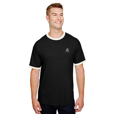 32501 - Champion Adult Triblend Ringer T-Shirt