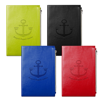 32557 - Element Softbound Journal with Zipper Pocket