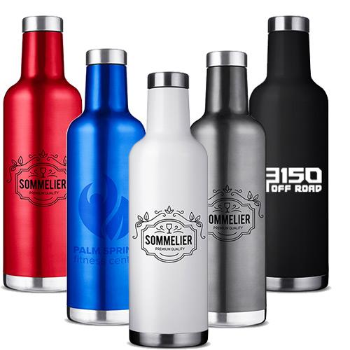 32618 - 25 oz. Alsace Vacuum Insulated Wine Bottle