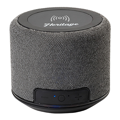 32724 - Forward Fabric Speaker with Wireless Charging