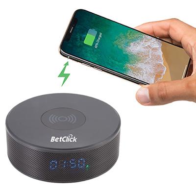 32725 - Bluetooth Speaker Clock w/Wireless Charging