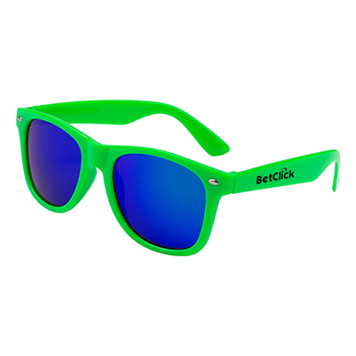 32744 - Clairemont Colored Mirror Tinted Sunglasses