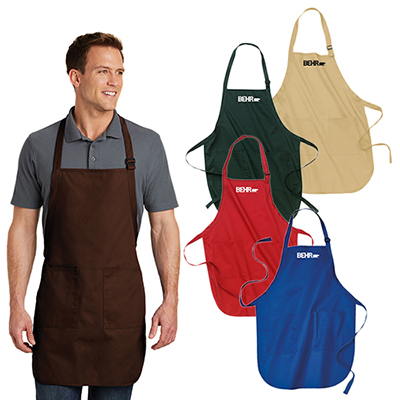 32780 - Port Authority Full-Length Apron with Pockets