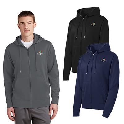 32787 - Sport-Tek® Sport-Wick® Fleece Full-Zip Hooded Jacket