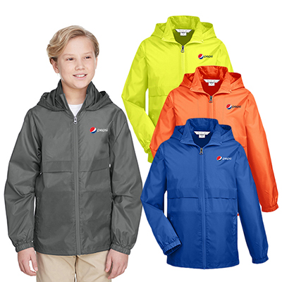 32801 - Team 365 Youth Zone Protect Lightweight Jacket