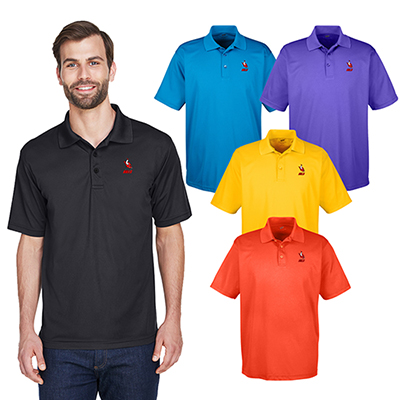32802 - UltraClub Men's Cool & Dry Mesh Pique Polo
