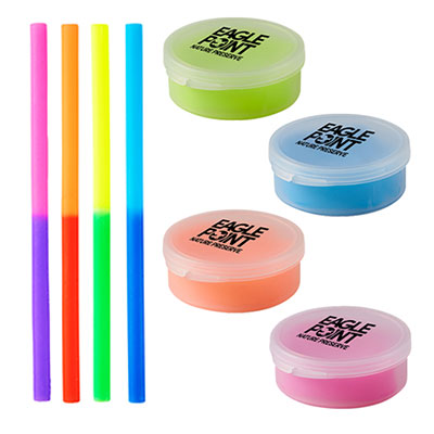 32828 - Reuse-it™ Mood Silicone Straw in Round Case