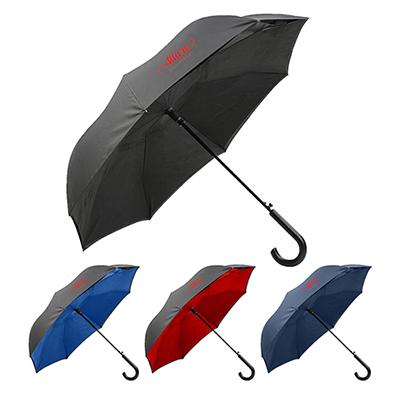 """32863 - 48"""" Unbelievabrealla Crook Handle Auto Open Umbrella"""