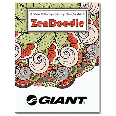 32893 - ZenDoodle Stress Relieving Coloring Book for Adults